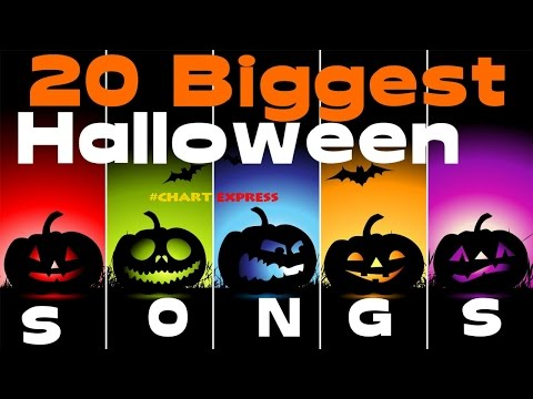 Halloween Songs Top 20  2016 Edition  Biggest Hits  ChartExpress