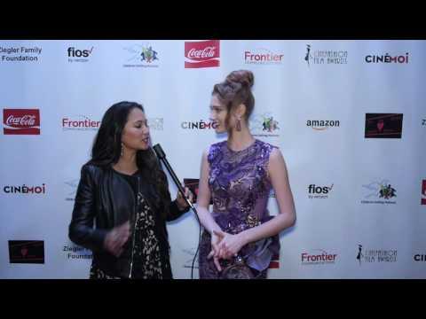 Cinémoi's Oscars After Party Interview w/ Serena Laurel
