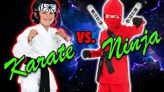 Ninja Kid vs Karate Kid Fight. Who won? Ad
