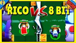 RICO vs 8 BIT | ¿Cual es el mejor BRAWLER? Brawl Stars