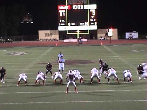 2007 Lake Travis Football NB Canyon Playoff Highlights