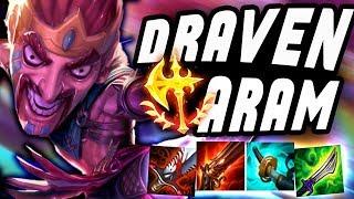 DRAVEN ONE SHOT CRITS ON ARAM - Draven ARAM - League Of Legends