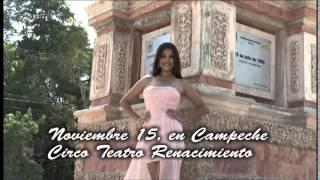 Gambar cover Paloma Sandoval, candidata a Linda Campechana 2014.