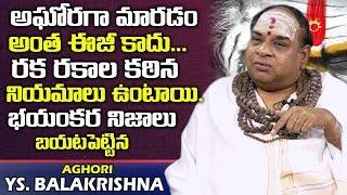 అఘోరగా మారాలంటే రకరకాల కఠిన నియమాలు ఉన్నాయి   Aghori YS Balakrishna about Kashi Importance   Aghoras
