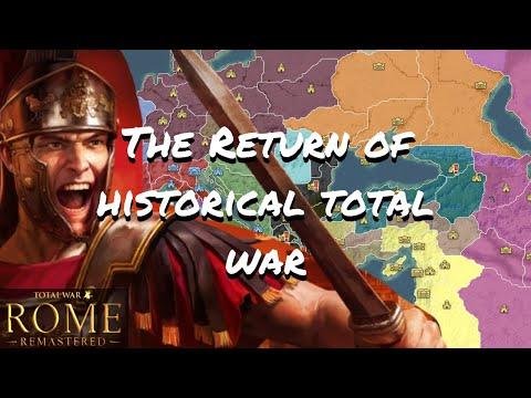 Is Historical Total War Back? Total War Rome Remastered! |