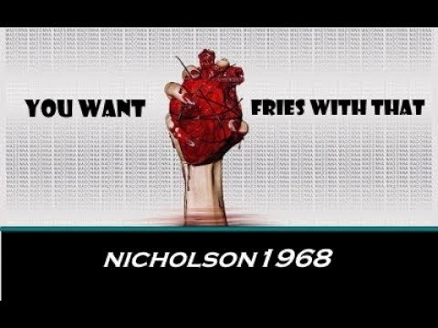 You Want Fries With That Cannibalism! Nicholson1968