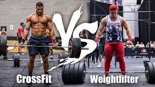 CrossFitter VS Weightlifter - Unbroken Grace!