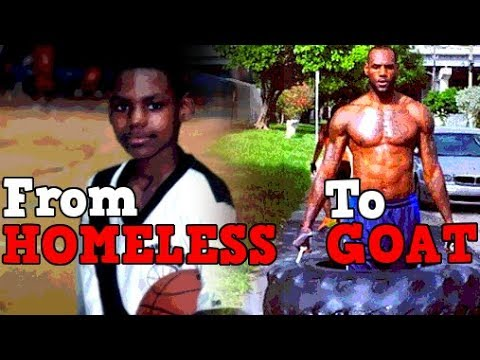 From HOMELESS To NBA GOAT! The Story of LeBron James