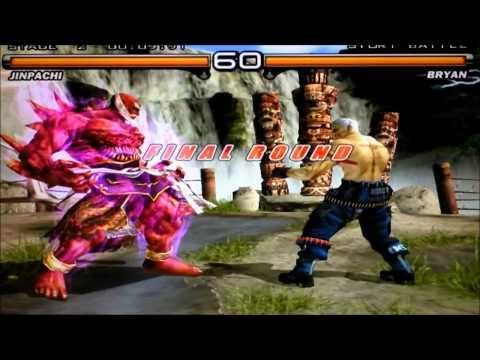 Jinpachi Unlock Tekken 5 Psp images