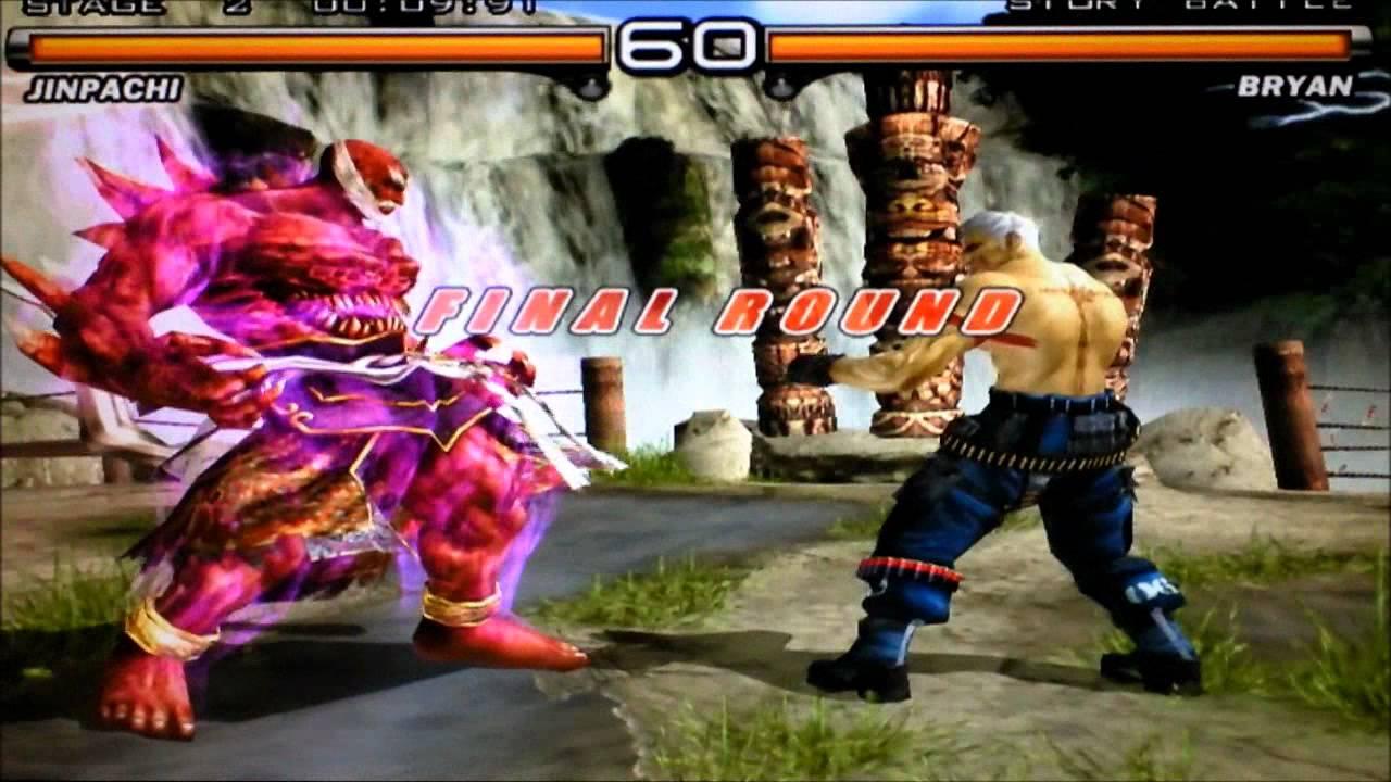 Tekken 5 Playing With Jinpachi Pcsx2 Youtube
