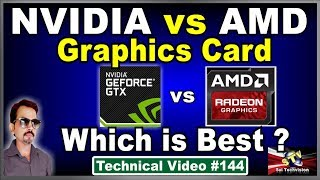 NVIDIA vs AMD Graphics Cards Which is Best According to Your Work ? #144