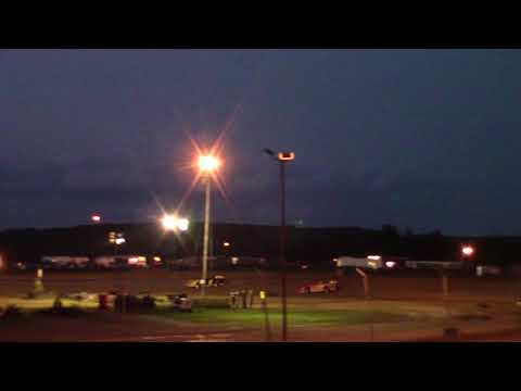 Marion Center Speedway 8/26/17 Steel Block Limited Late Model Heat 2 OF 2 part 2of 2