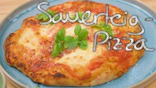 Wie Sauerteigpizza backen Spaß macht!