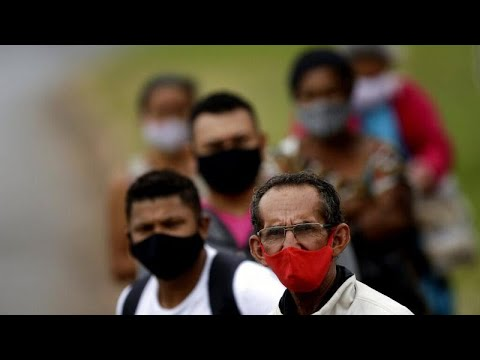 Короанвирус в Бразилии: за сутки почти 20 тысяч случаев заражения …
