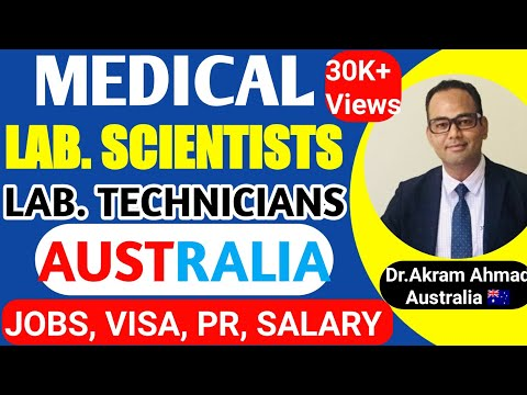 Become Medical Laboratory Scientist/Technician Immigration To Australia | Work As Lab Tech