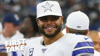 Dak Prescott still has more to prove before the Cowboys pay him - Max Kellerman | First Take