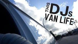 This City DJ Lives Minimal In A Self Made Conversion Van