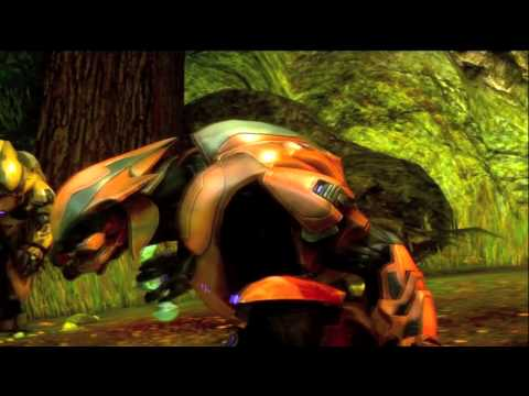 Machinima halo Les DINOFLEX (Docufiction)