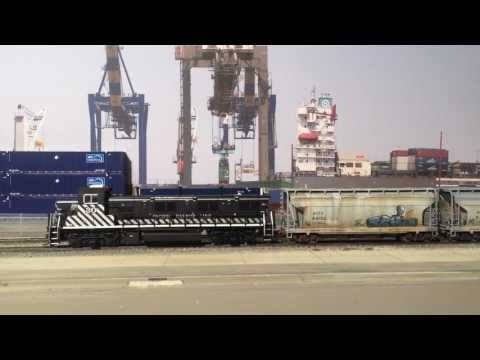 New locomotive on the Port of Los Angeles HO Layout