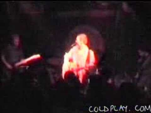 Coldplay - First Gig (16th January 1998)