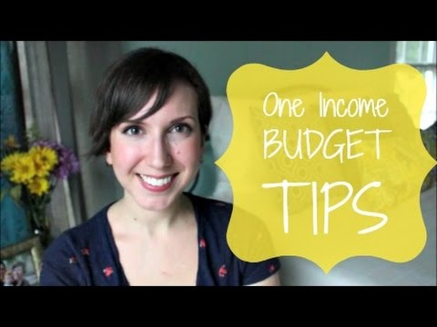 Money Saving Tips for Living on One Income