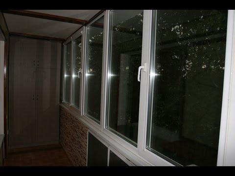 Два встроенных корпусных шкафа на лоджии - (от арс-балкон) -.