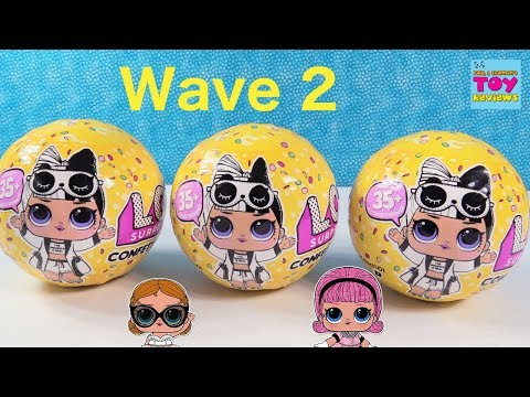 Lol Surprise Doll Wave 2 Confetti Pop Series 3 Unboxing Review