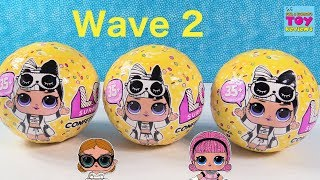 LOL Surprise Doll Wave 2 Confetti Pop Series 3 Unboxing Review | PSToyReviews