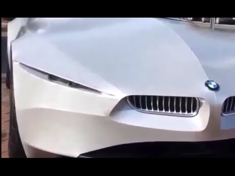 Bmw Gina Concept Caught In Uae Winking Youtube