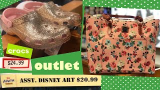 DISNEY CHARACTER WAREHOUSE OUTLET SHOPPING [1/24/20]