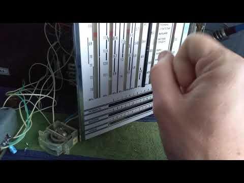 Перестройка УКВ блока УКВ1-1С радиоприемник Рига 104