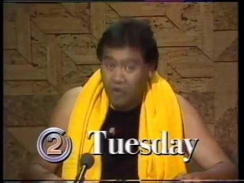 Billy T James TV Promo 1992