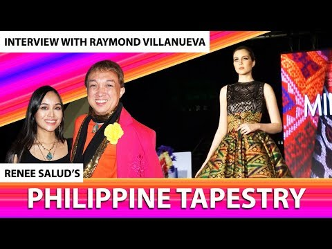 Interview with Raymond Villanueva at Renee Salud's Philippine Tapestry