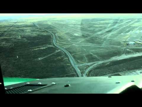 Landing at Double Eagle II Albuquerque NM