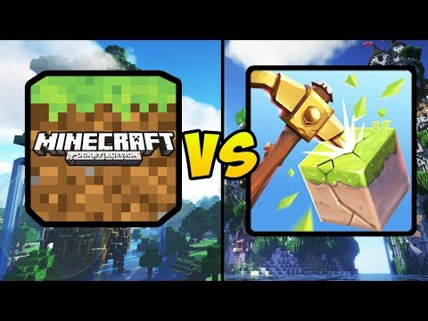 """MINECRAFT POCKET EDITION VS MULTICRAFT STORY"" (MCPE, Multi Craft Story, Mobile Games, iOS, Android) thumbnail"