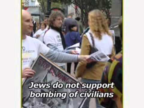 JVP - Jewish Voice for Peace protest Israel