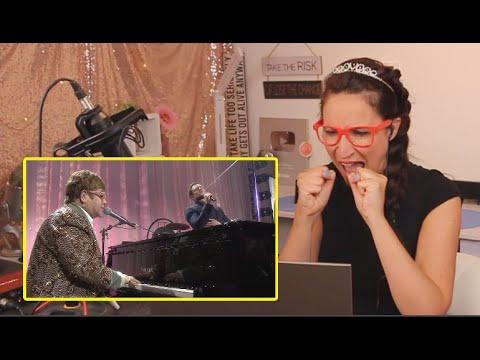 Vocal Coach REACTS to Elton John & Taron Egerton - 'Tiny Dancer'