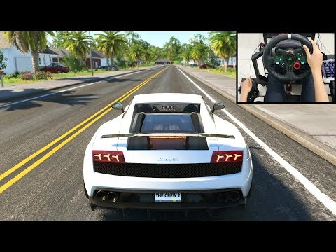 Lamborghini Gallardo - The Crew 2 | Logitech G29 Gameplay