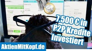 Wie ich 7.500 € in P2P Kredite investiere – P2P Mintos, Bondora, Twino Tutorial