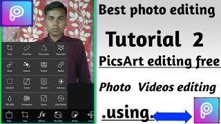 FULL DETAILS  PICSART TOOLS bar using photos  picsart / photo Editing in Android phone best video