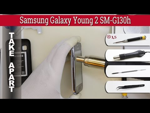 How to disassemble 📱 Samsung Galaxy Young 2 SM-G130 Take apart Tutorial