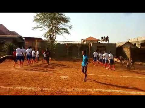 ATHLETICO MADRID FOOTBALL CLUB IN ALLENTOWN FREETOWN SIERRA LEONE