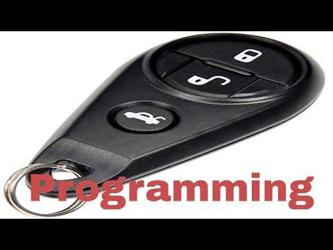 Subaru keyless remote programming instructions w scan tool