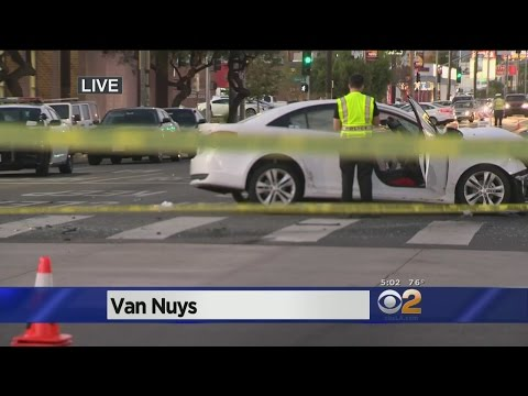 6 Hurt In Van Nuys Following Police Following Suspect
