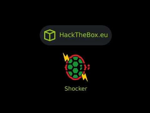 HackTheBox - Shocker