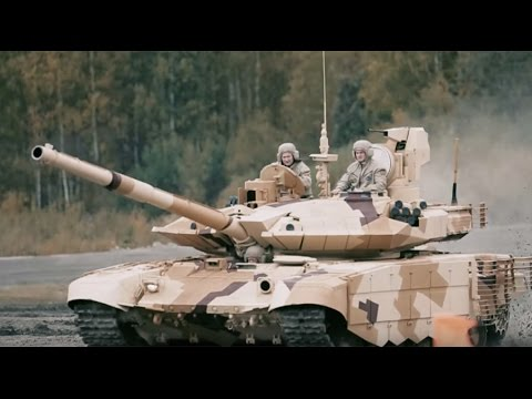 Tanks vs 'terrorists' military exercise expo from Russian TankMash HQ