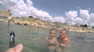 Равда,Болгария 2015,море,дикий пляж,4к(, 2015-09-02T17:08:29.000Z)