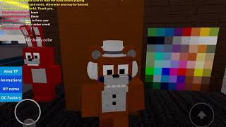 My Youtuber OC! DO NOT STEAL LIKE THE OTHERS! ( fnaf roblox )