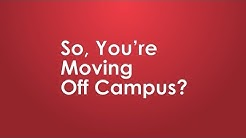 SUNY Cortland | Moving off campus