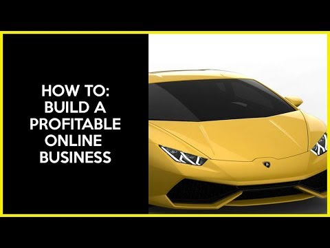 How To Start An Online Business Tutorial